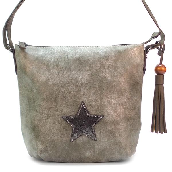 Женская сумка David Jones. 5649-3 d. khaki