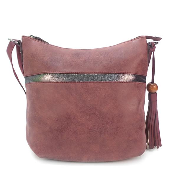 Женская сумка David Jones. 5650-1 bordeaux