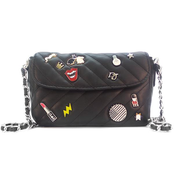 Женская сумка David Jones. 5672-1 black