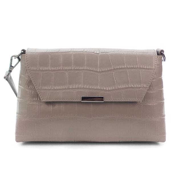 Женская сумка Borgo Antico. Кожа. 7829 grey