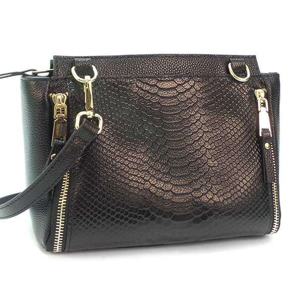 Женская сумка Borgo Antico. Кожа. 8066 black