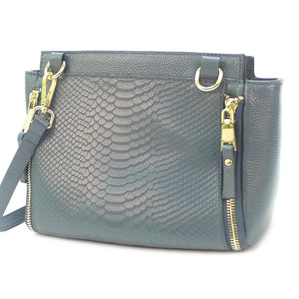 Женская сумка Borgo Antico. Кожа. 8066 blue
