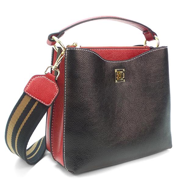 Женская сумка Borgo Antico. F 7333 D/F 7352 black NN