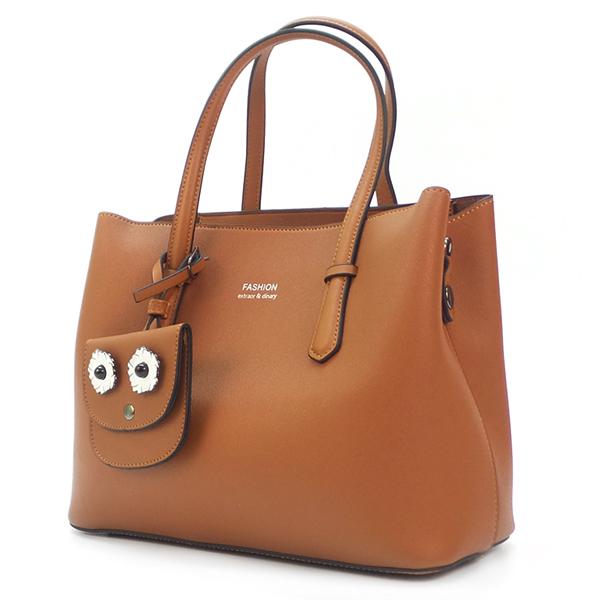 Женская сумка. M 8172 yellow (brown)